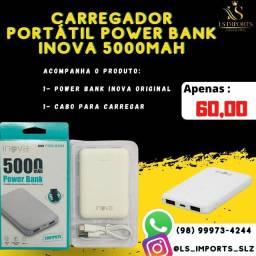 Carregador portátil Inova Power Bank 5000 MAH