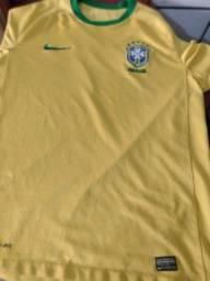 Título do anúncio: Camisa Brasil oficial g original jogo
