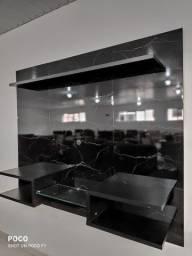 Título do anúncio: Painel preto com vidro feirão universo móveis