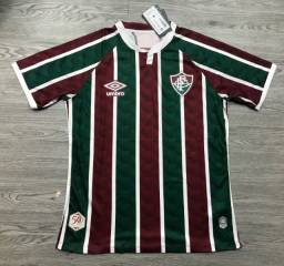 Camisa Fluminense I S/nº Umbro Tricolor 20/21