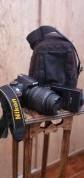 Câmera  fotográfica nikon d3200 troco por smartphone  telefone celular