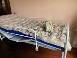 Cama Hospitalar Completa + Colchão Pneumático