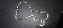 Título do anúncio: Corrente de prata 925 elo groumet