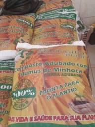 Título do anúncio: Terra com húmus de minhoca e esterco bovino