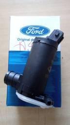 Bomba eletrica do lavador PB/ Vidro Tras. 2 saidas, linha Ford