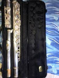 Flauta transversal Michael usada