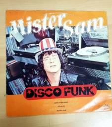 LP Mister Sam - Disco Funk - disco amarelo