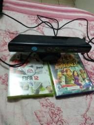 Kinect  Xbox 360 zerado