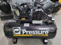 Título do anúncio: Compressor de ar 10 pés 100L Monofasico Pressure (Revisado)