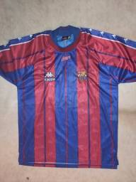 Título do anúncio: Camisa oficial do Barcelona