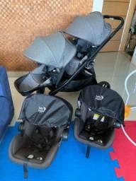 Carrinho Duplo Baby Jogger City Select Lux Importado EUA