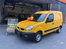 Título do anúncio: Renault Kangoo Express 1.6 Flex - Baixa KM - SEM Entrada - Revisado - Com Garantia