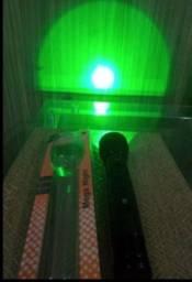 Lanterna De Led Mega Nigth Com Foco Verde