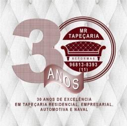 Título do anúncio: Tapeceiro Oficial ou Meio Oficial para Tapeçaria MR em Jardim Maria Estela