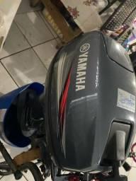 Título do anúncio: Vendo motor Yamaha 15HP 2016 zerado