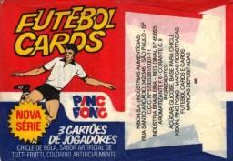 Título do anúncio: Lote 235 Futebol Cards Ping pong