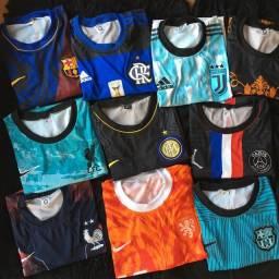 Camisetas de time para uso próprio  ou revenda