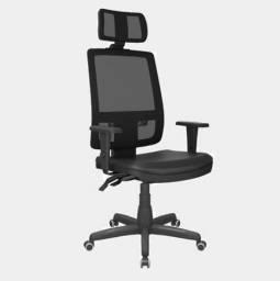 Título do anúncio: Cadeira presidente com apoio de cabeça