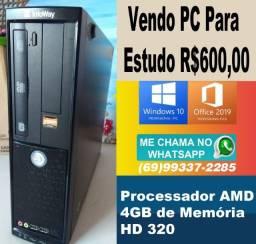 Título do anúncio: PC Para Estudo R$600,00