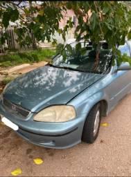Honda Civic EX 2000 Automático com GNV