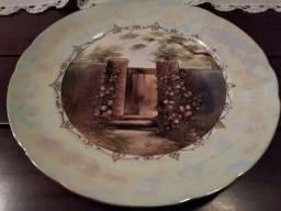 Pratos De Porcelanas Pintados A Mão São Porcelanas Schimidt