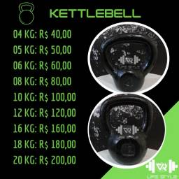 Título do anúncio: Kettlebell  - R$ 10,00/KG - Leia a descrição