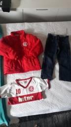 Título do anúncio: combo roupa menino do Internacional