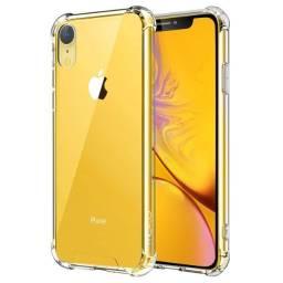 Capinha iPhone Anti Impacto Transparente 6s,7,8,Se ,7plus,8Plus,11 ,11 Pro, XR e XS
