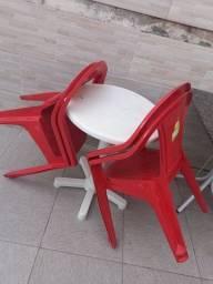 Título do anúncio: Conjunto de mesa e cadeira e mesa de mármore
