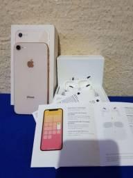 Título do anúncio: Iphone 8 64 GB + airpods pro Apple