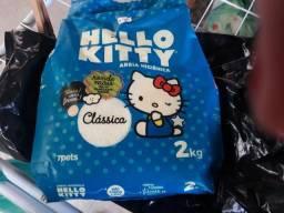 Areia higiênica Hello Kitty para gatos