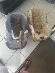 Vendo dois bebê conforto e uma cadeirinha