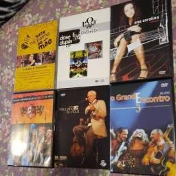 Título do anúncio: Dvds Músicas ? Vintage - Valores na descrição