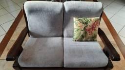 Sofa estilo móveis de gramado.