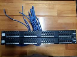 Equipamentos pra Redes Lógicas - Patch Panels, Organizadores e Switchs