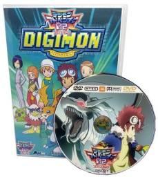 Box Dvd Anime Digimon 2 Zero Two Dublado Completo