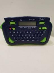 Título do anúncio: Rotulador Eletrônico Portátil Brother PT80 - pouco uso