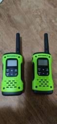 Rádio comunicador 35 km talkabout T600 BR Motorola