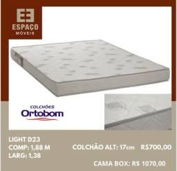 Título do anúncio: Colchão Casal Light D23 Ortobom #Entrega Grátis