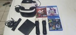 Óculos VR ZVR2 Ps4 completo + 2 jogos