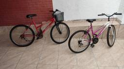Título do anúncio: Bicicletas aro 26 feminina com marcha