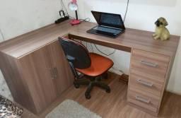 Título do anúncio: Mesa de escritório em L