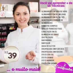 Título do anúncio: Curso de manicure on-line completo