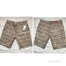 Bermuda Jeans Estampada
