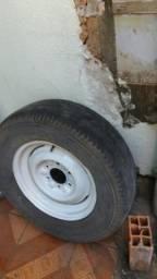 Vendo roda c pneu de camionete