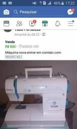 máquina de costura nova