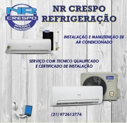 Título do anúncio: Nr crespo técnico de refrigeração em geral