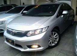 Honda New Civic lxs 2015 automático entrada de 10000 + 48 x 990 - 2015