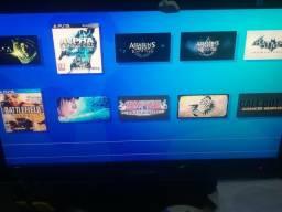 PS3 COM HD 1 TB desbloqueado hen