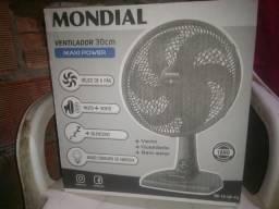 Ventilador 6 paletas Mondial. Na Caixa